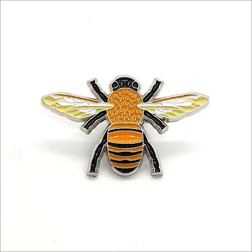 Soft Enamel Pin Badge - Honey Bee