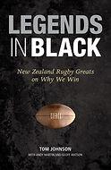 Legends in Black: Tom Johnson, Andy Martin, Geoff Watson. Designed by Jenny Haslimeier