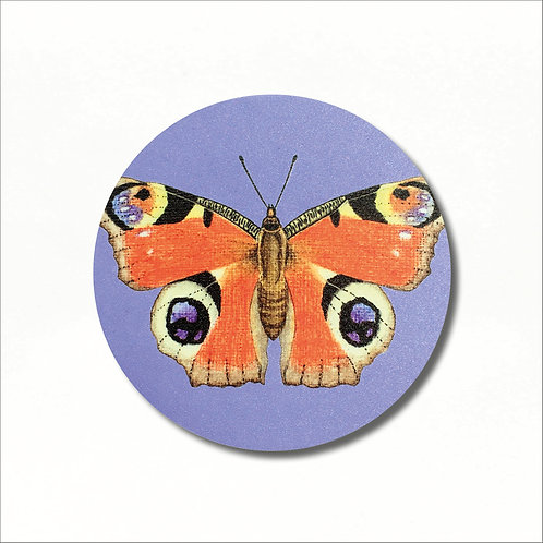 Coaster - Peacock Butterfly