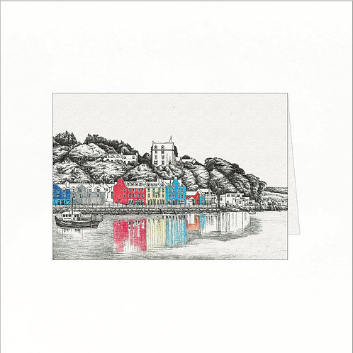 Greeting Card - Tobermory, Isle of Mull