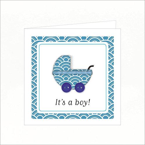 Greeting Card - It's a Boy!