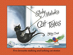 Slinki Malinki's Cat Tales: Lynley Dodd. Designed by Jenny Haslimeier
