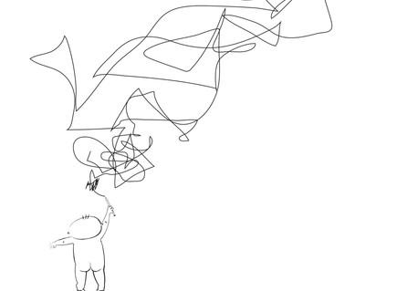 Digital illustrations for a book I both designed and illustrated