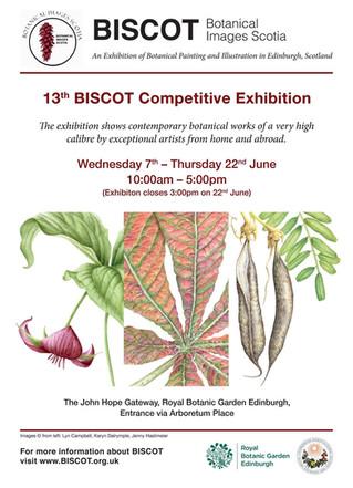BISCOT (Botanical Images Scotia) exhibition 2017