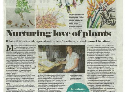 Ngai Tipu Taketake - Indigenous Flora makes the NZ Herald