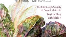 Edinburgh Society of Botanical Artists's 9th Annual Exhibition 'New Growth'