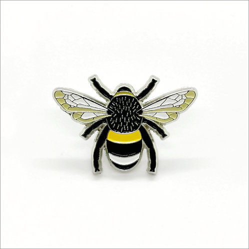 Soft Enamel Pin Badge - Bumble Bee