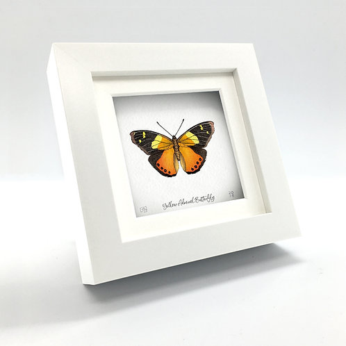 Miniature - Yellow Admiral Butterfly