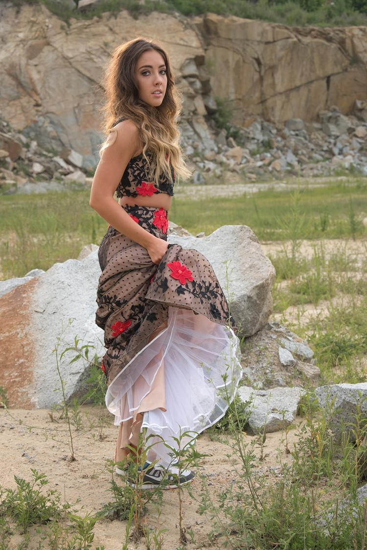 Savannah Stevens for Sherri Hill