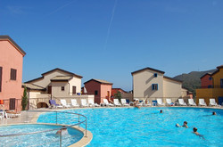 Résidence vue côté piscine