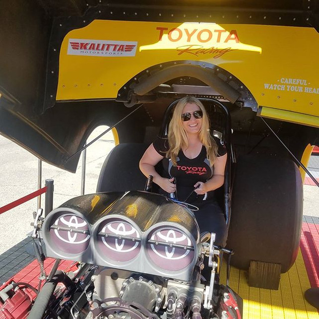 Just another day at the races!_--_--_--_#toyota #toyotaracing #nhra #fastcars #racing #races #drag #dragrace #chickswholovecars #fastcarsand