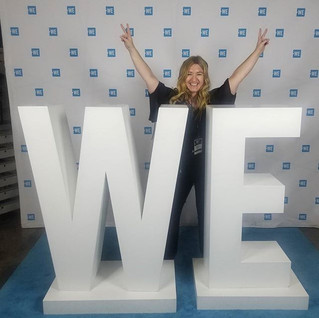 _All you need is you to be your best self_ - Brittany Lynch _Thanks WeDay for empowering kids to help make positive changes in the world and