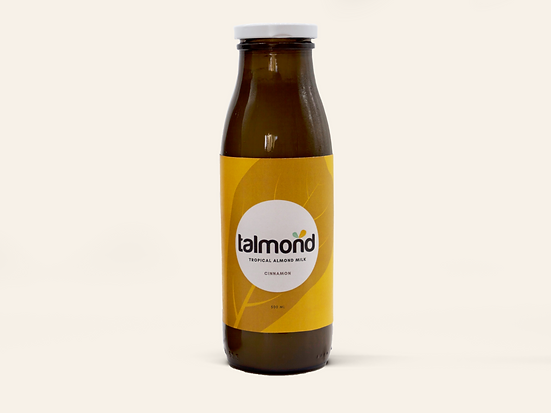 Big Juice Bottle Mockup Talmond cinnamon