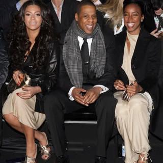 Milan fashion week +Beyonce +Jayz +Kelly