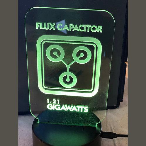 LED Geek NightLight - Flux Capacitor