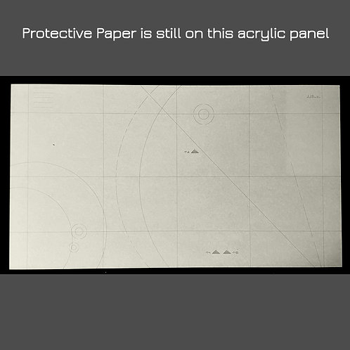 "Star Map ""lg"" - Acrylic Laser Cut Panel - Large"