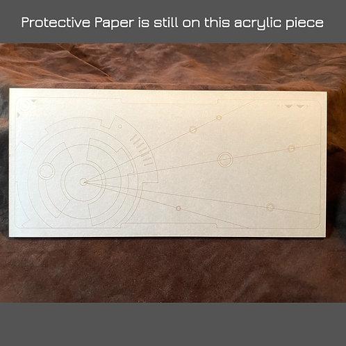 "Star Map ""i"" - Acrylic Laser Cut Panel - Medium"