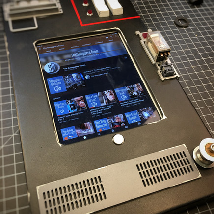Control Panel Tablet of Action Figure Display Case