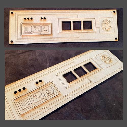 MDF Laser Cut Panel - Design #4
