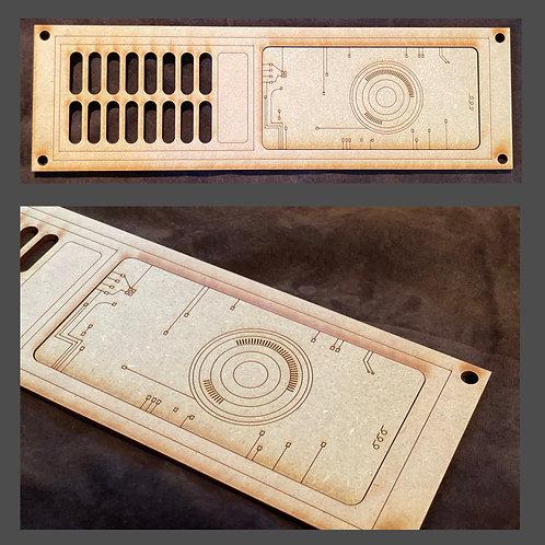 MDF Laser Cut Panel - Design #1