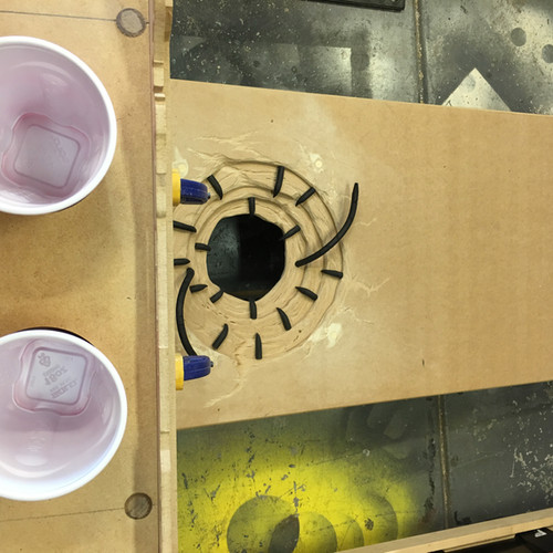 Sarlacc Drink Holder Barge