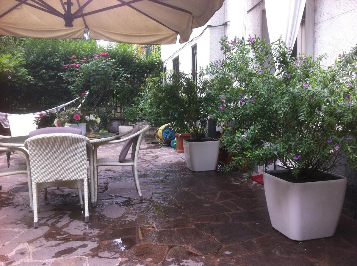 Giardino mezzosole Milano