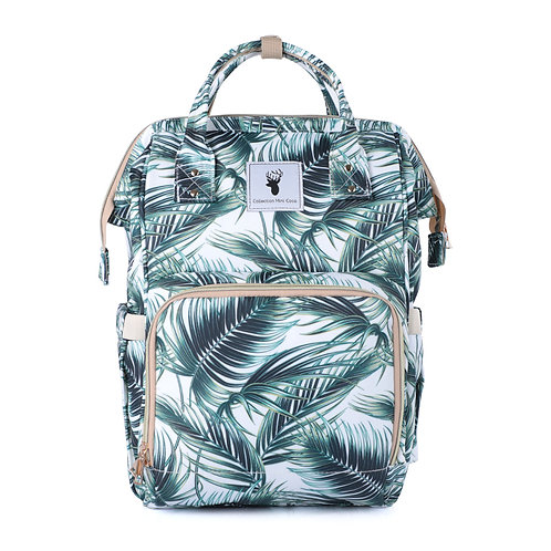 Sac à couches / sac à dos | Back pack / Diaper bag |tropical