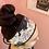Thumbnail: Bandeau cocooning floral noir