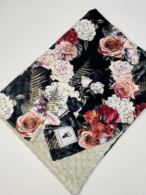 Accessoires   Accessories   Doudou floral noire
