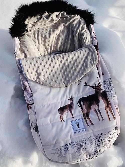 Housse Hiver | winter slipcover | Chevreuil naturel