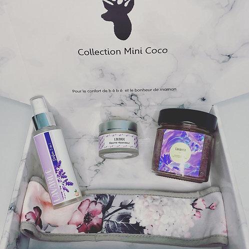 Boîte cocooning pour Maman Lavande