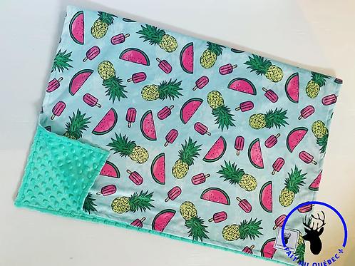 Accessoires | Accessories | Doudou ananas turquoise