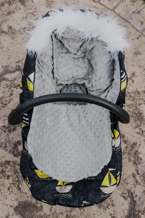 Housse Hiver | winter slipcover | Bateau jaune