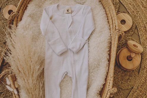 Pyjama coton blanc
