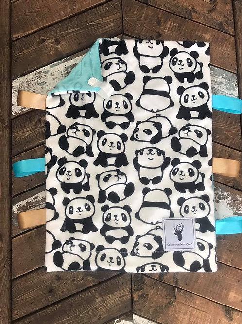 Accessoire | Accessory | Doudou étiquette panda