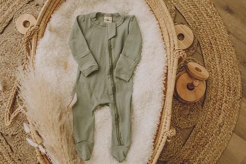 Pyjama coton kaki