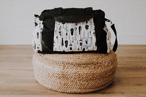 Sac à couches / bandoulière | Shoulder strap / Diaper bag |plumes