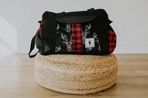 Sac à couches / bandoulière | Shoulder strap / Diaper bag | Patching rustique