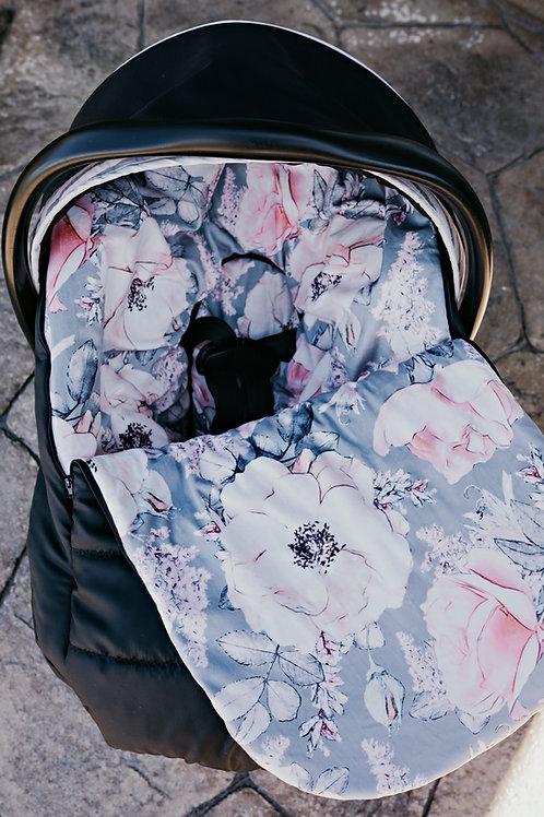 Housse mi-saison | Mid season slipcover | Floral délicat
