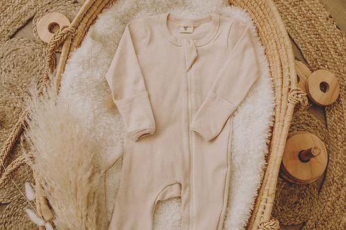 Pyjama coton beige