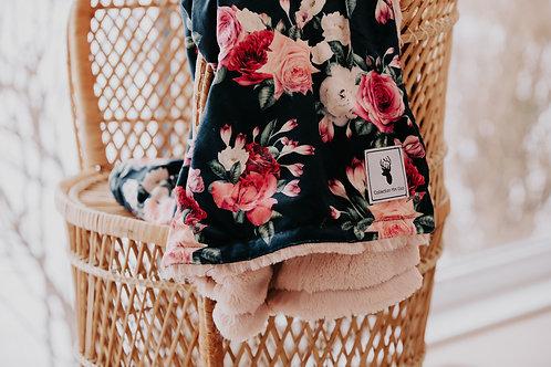 Accessoire  | Accessories | Doudou floral endos fourrure