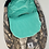 Thumbnail: Housse  Hiver | winter slipcover | camo turquoise