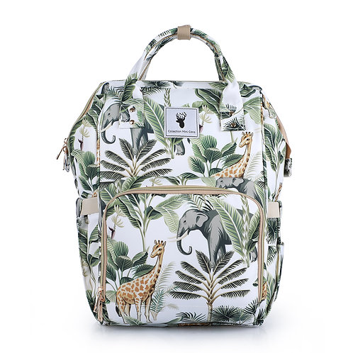 Sac à couches / sac à dos | Back pack / Diaper bag | jungle