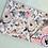 Thumbnail: Accessoires | Accessories | Doudou/Blanket | Doudou minky floral blanc