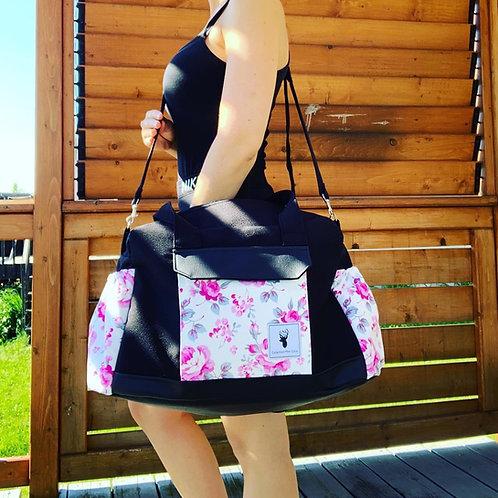 Sacs à couches / bandoulière | Shoulder strap / Diaper bags |  Floral blanc