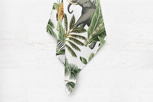Mousseline de bamboo jungle