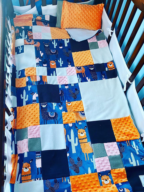 Literie | Bedding | Courte-pointe lama