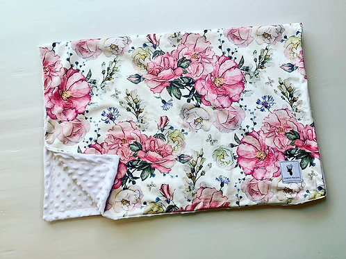 Accessoires   Accessories   Doudou fleurs roses et blanches