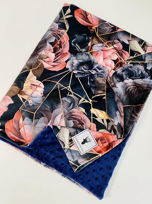 Accessoires | doudou floral vintage foncé