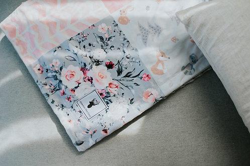 Accessoires   doudou patchwork renard rose